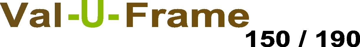 Val-U-Frame Logo